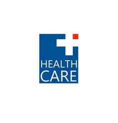 logo cross for the clinic pharmaceutical vector image