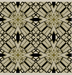 Seamless pattern ornamental background repeat vector