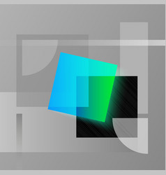 simple geometry abstract geometric vector image