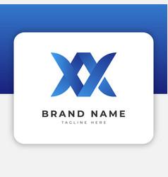 Va av logo design inspiration vector