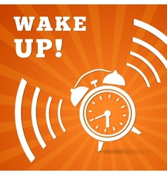 Wake up alarm vector