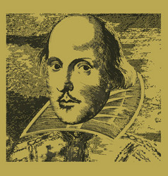 William shakespeare vector