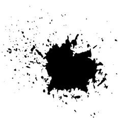grunge ink background vector image vector image