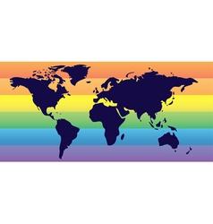 Homosexual world vector image