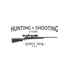 Hunting vector image vector image