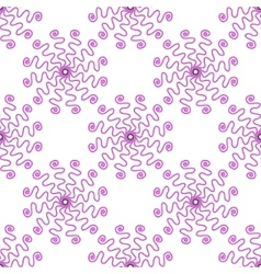 Stylish seamless pattern vector image