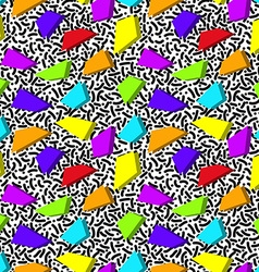 bright rainbow abstract seamless pattern in style vector image