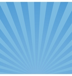 Burst blue background vector image
