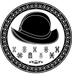 Mayan conquista symbol vector