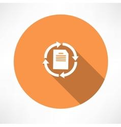Refresh Page Icon vector image