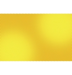 retro comic yellow background raster gradient vector image