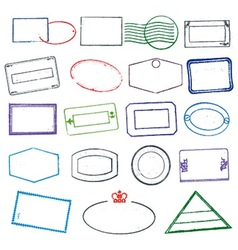 Rubber Stamps vector