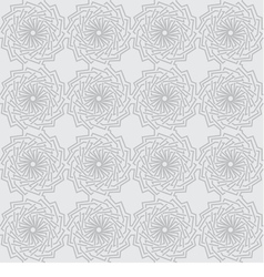 seamless gray background with ornament vector image