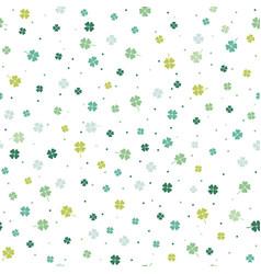 Seamless springtime pattern vector