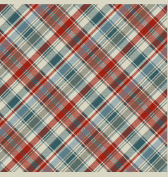 Striped plaid fabric texture seamless background vector