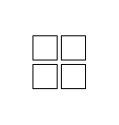 option icon vector image