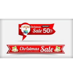 026 Collection of Merry Christmas sale web tag vector
