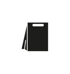 bag package shop icon vector image