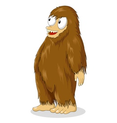 Bigfoot Cartoon vector