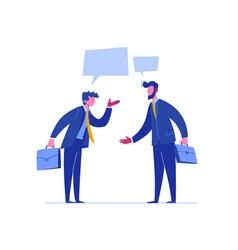 Businessman conflict complete investor portfolio vector