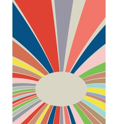 Colorful Rays Background3 vector