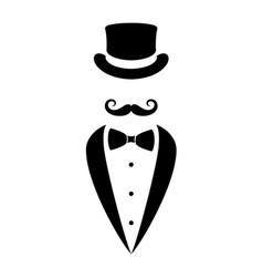 Gentleman sign vector