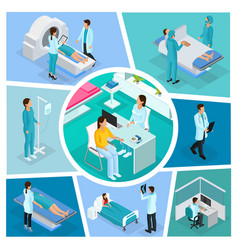 Isometric medicine composition vector