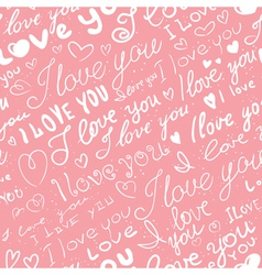 Love seamless vector