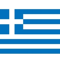 National flag of Greece vector image