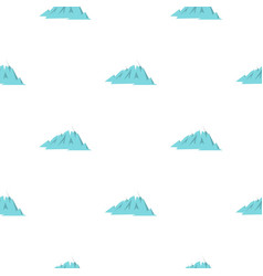 Rocky mountains pattern seamless vector