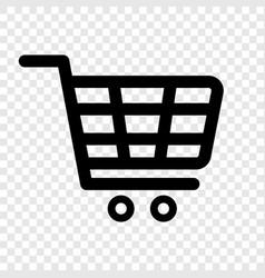 shopping cart icon internet shop buy logo vector image