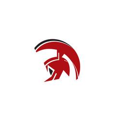 spartan logo vector image