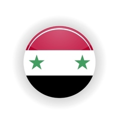 Syria icon circle vector