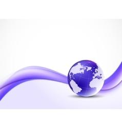 Violet purpule background vector image