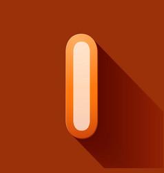 Volume icons alphabet i vector