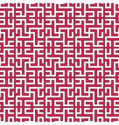 geometrical islamic ornament vector image vector image