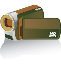 handicam vector image vector image
