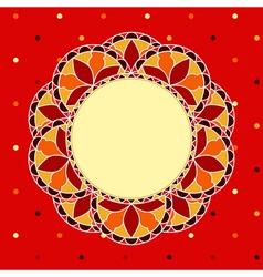 Mosaic Frame vector image
