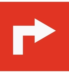 The right icon direction and arrow navigation vector