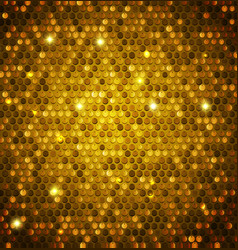 abstract shining background with glossy sequins vector image