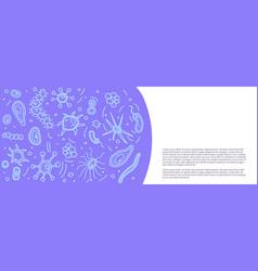 Bacteria cells set composition vector