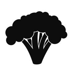 broccoli icon simple style vector image