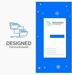 business logo for folder file management move vector image
