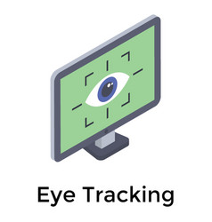 Eye tracking vector