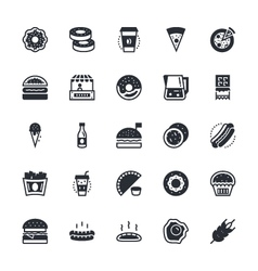 Food Vegetables Icons 1 vector