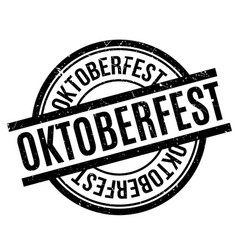 Oktoberfest rubber stamp vector