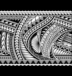 Tribal style half sleeve vector