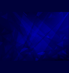 blue color geometric abstract background modern vector image