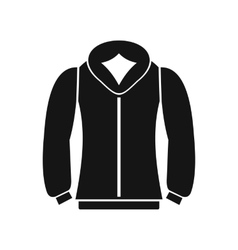 Sweatshirt icon in simple style vector image vector image