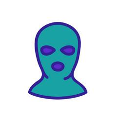 Balaclava per person icon outline vector